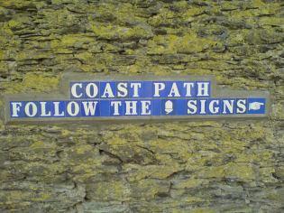 Helpful sign, Ilfracombe