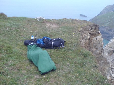 Bivouac by sea