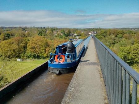 Pontcysyllte Aquaduct, Offa's Dyke