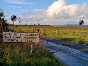 Approaching Drumburgh