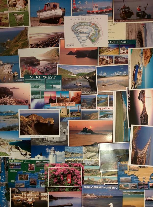 My SWCP Diary - 37 Postcards