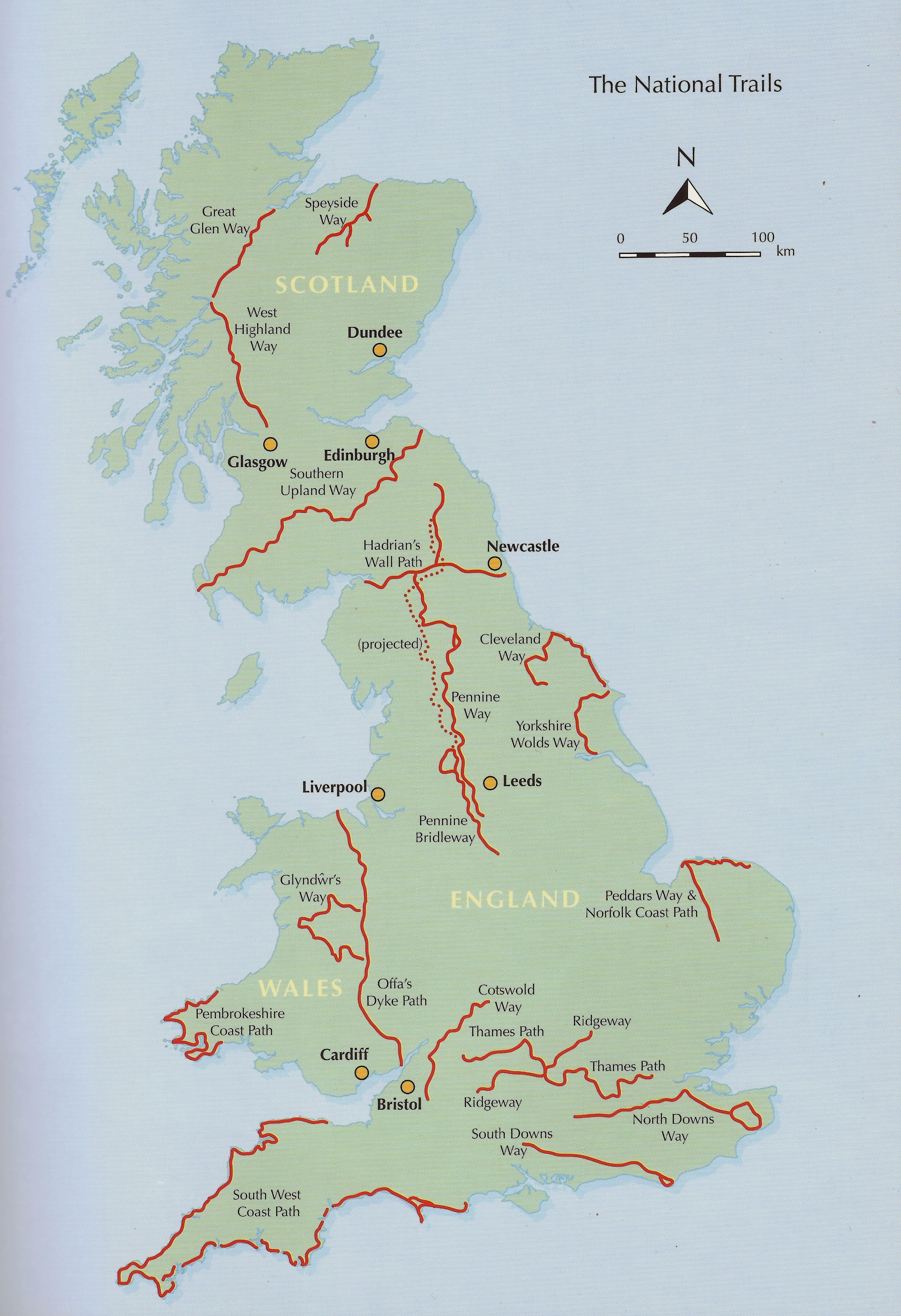 National Trails