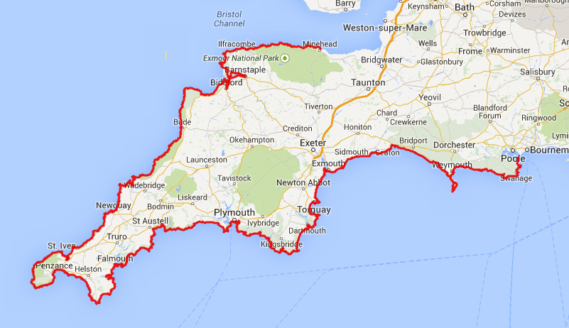 South West Coast Path – Trail Planner