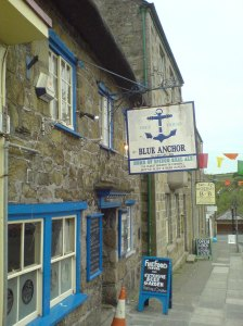 Blue Anchor and Spingo Beer - deceptively strong ale