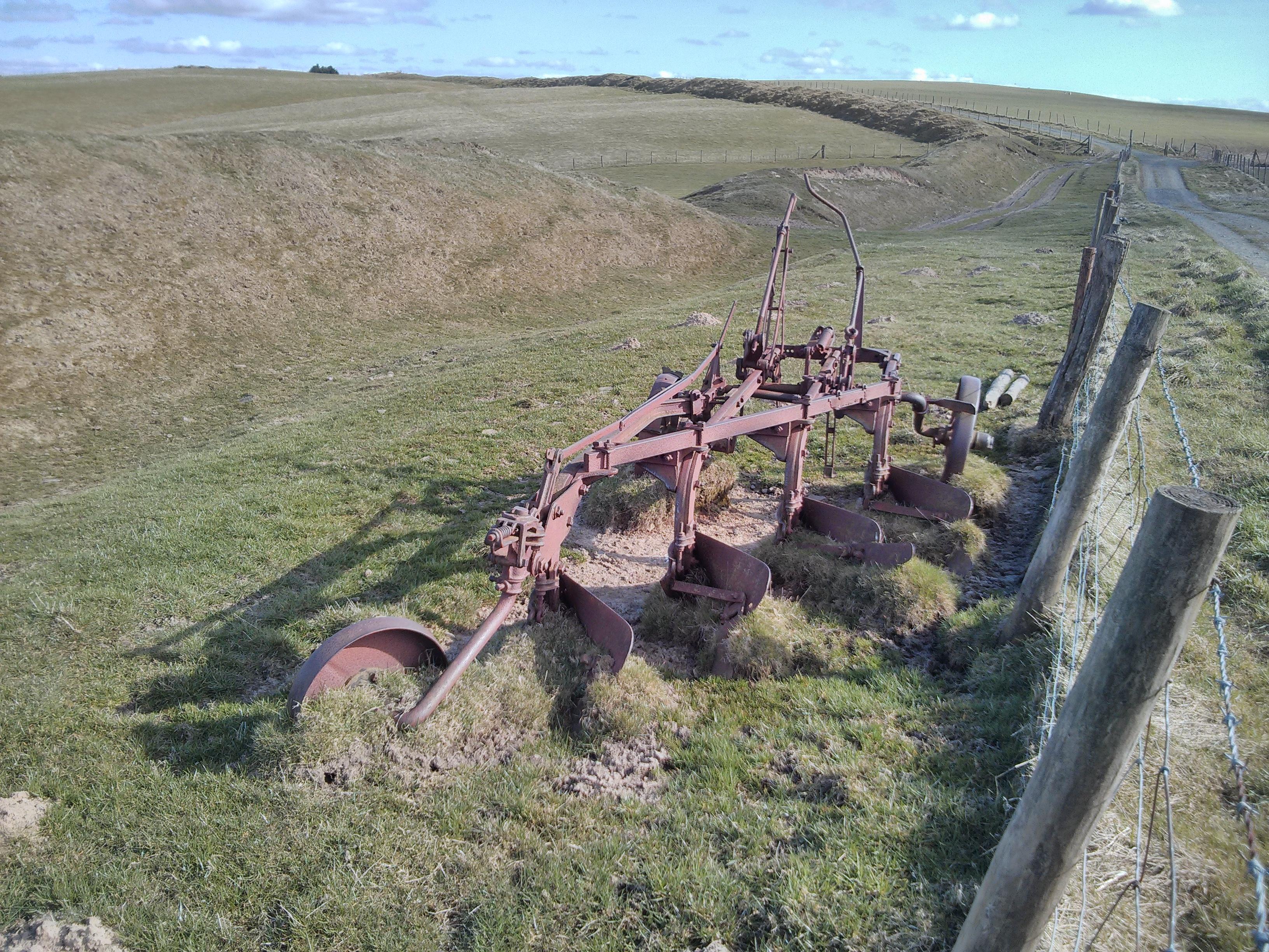 Plough alongside the Dyke