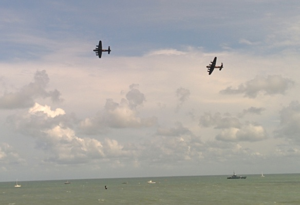 BBMF and Canadian Lancaster Bombers