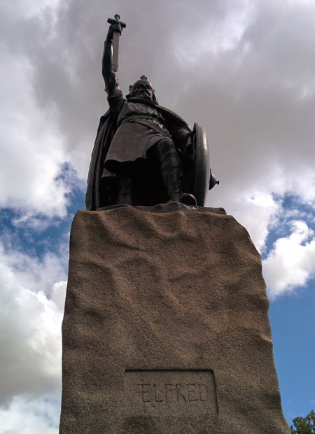 Alfred the Great - great to see you Alfred!